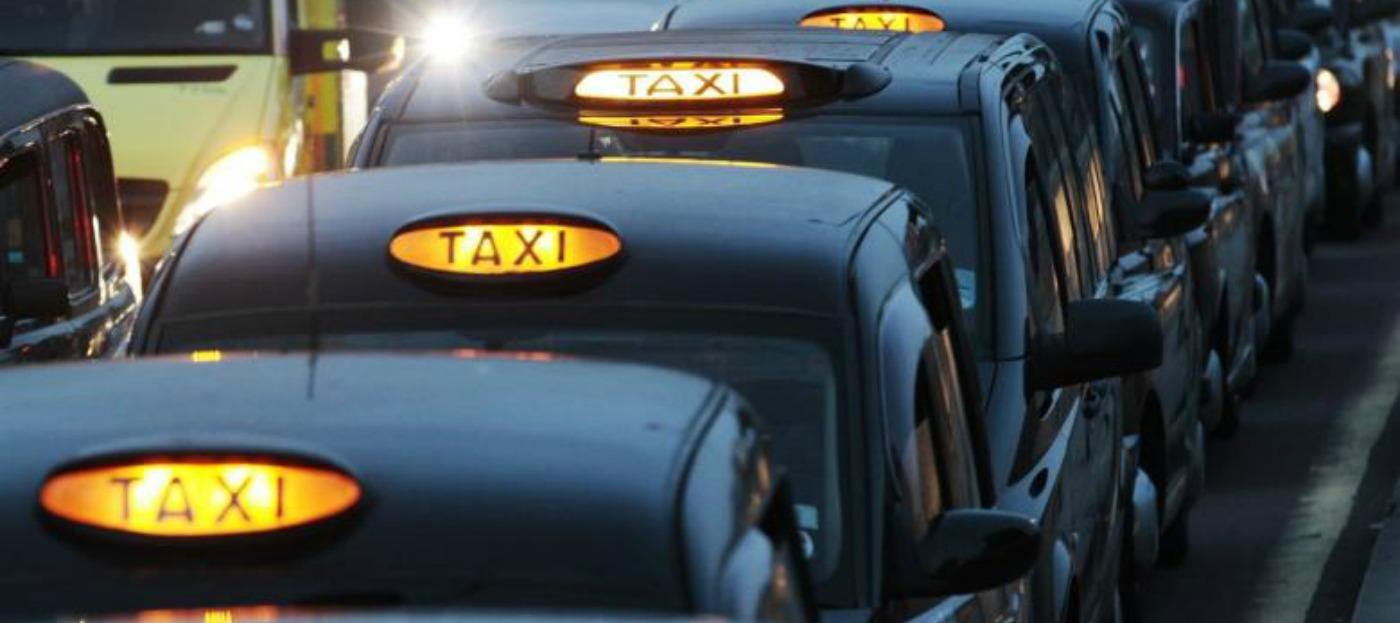 Taxi Fahrer …